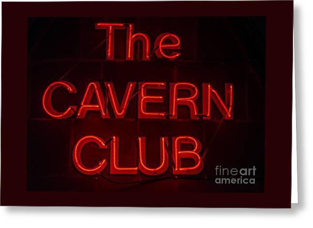 Cavern Club Greeting Card
