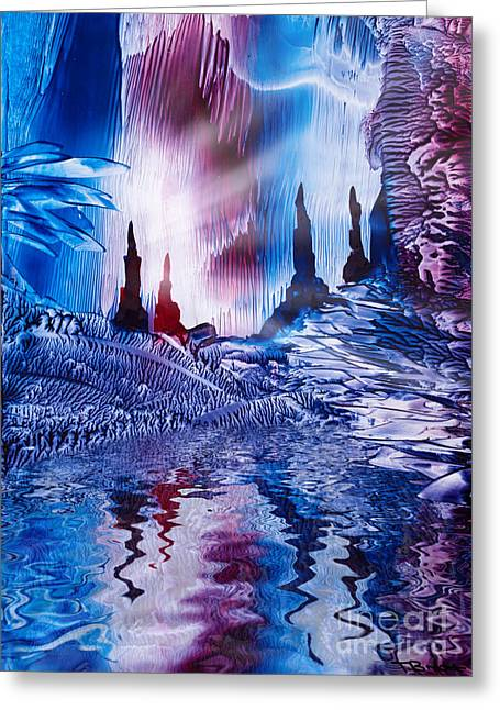 Cavern Of Castles Greeting Card