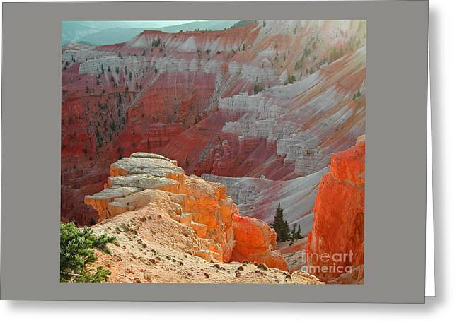 Cedar Breaks Utah Greeting Card