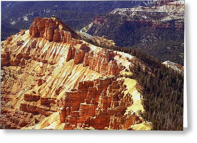 Cedar Breaks Utah Greeting Card by Rich Franco