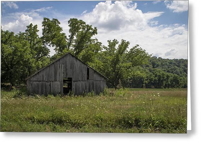Cedar Creek Barn II Greeting Card