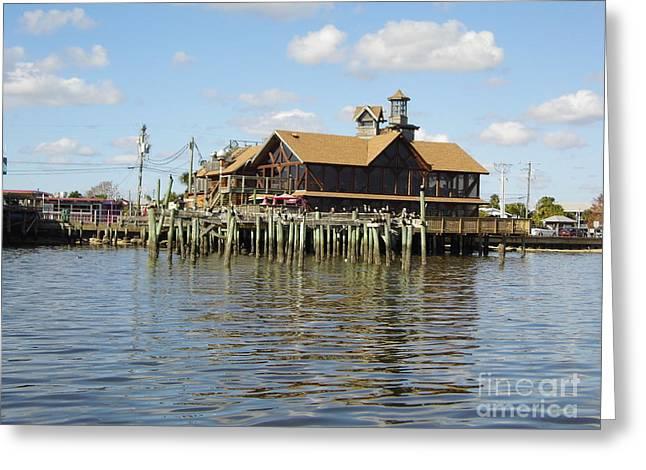 Cedar Key Florida Greeting Card by D Hackett