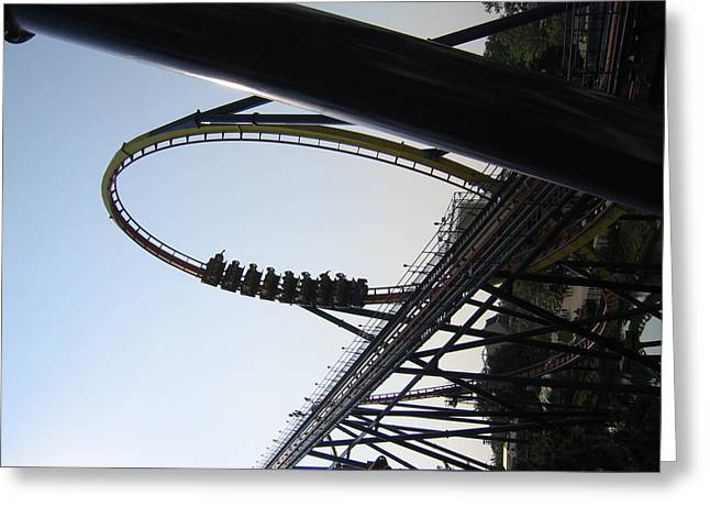 Cedar Point - Mantis - 121210 Greeting Card
