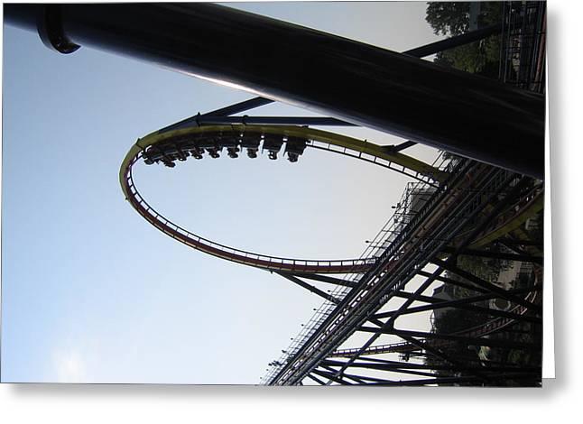 Cedar Point - Mantis - 12125 Greeting Card by DC Photographer