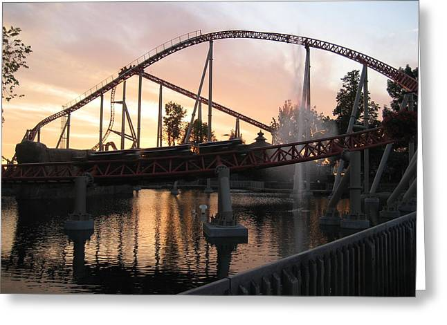 Cedar Point - Maverick - 12123 Greeting Card