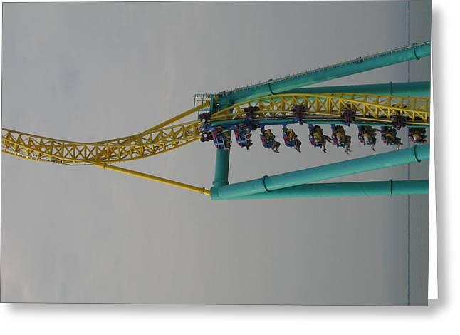 Cedar Point - Wicked Twister - 12128 Greeting Card