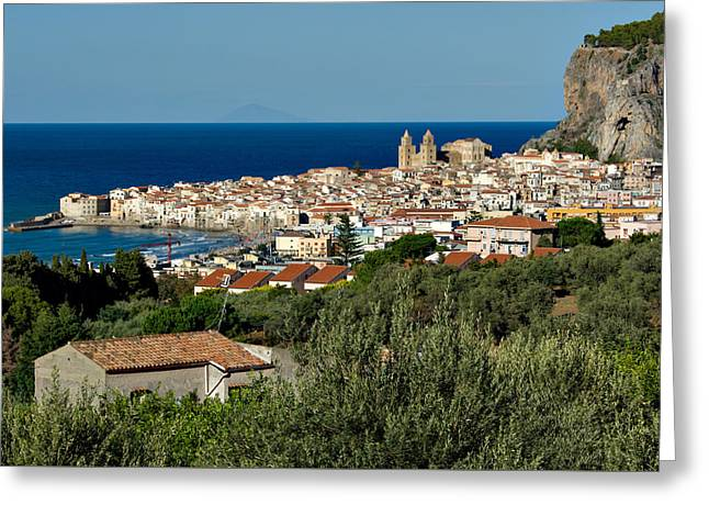 Cefalu Sicily Greeting Card