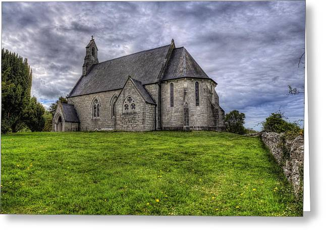 Cefn Meiriadog Parish Church Greeting Card by Ian Mitchell