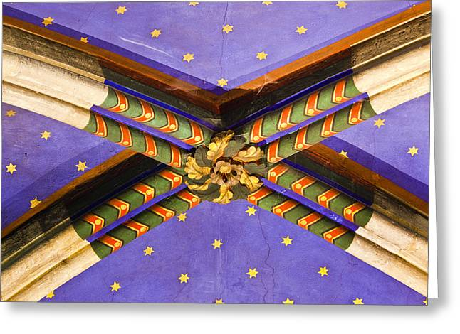 Ceiling Detail Greeting Card