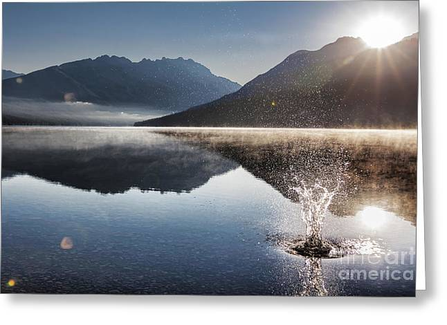 Kintla Lake Greeting Cards - Celebrate Greeting Card by Scotts Scapes