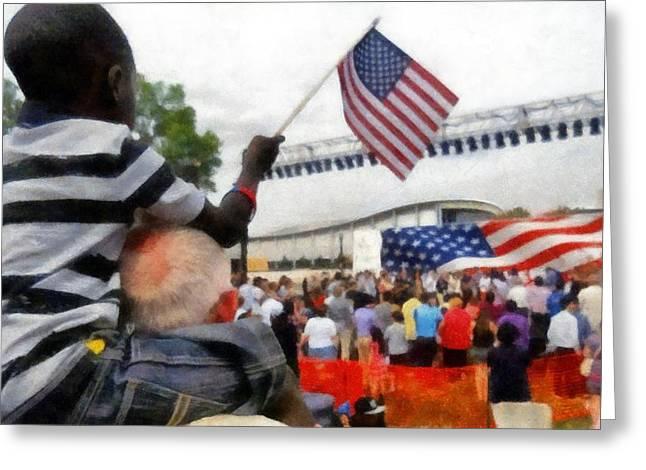 Celebrating Citizenship Greeting Card