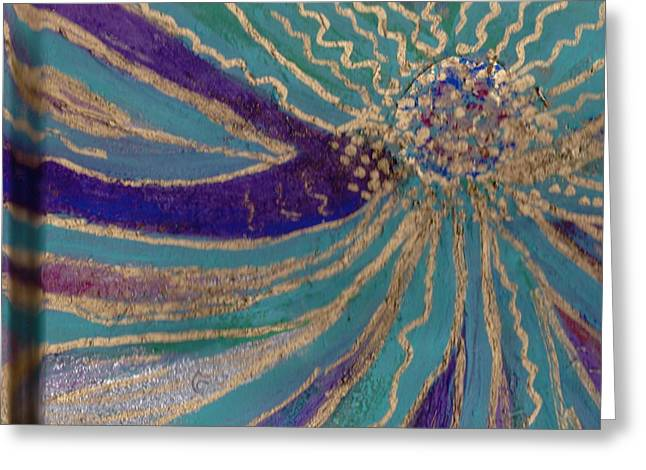 Celebration II Greeting Card by Anne-Elizabeth Whiteway