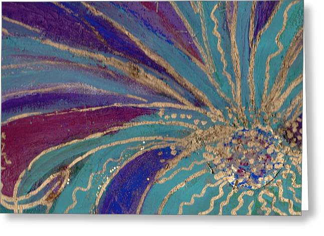 Celebration IIi Greeting Card by Anne-Elizabeth Whiteway