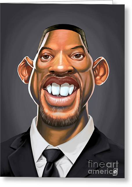 Celebrity Sunday - Will Smith Greeting Card
