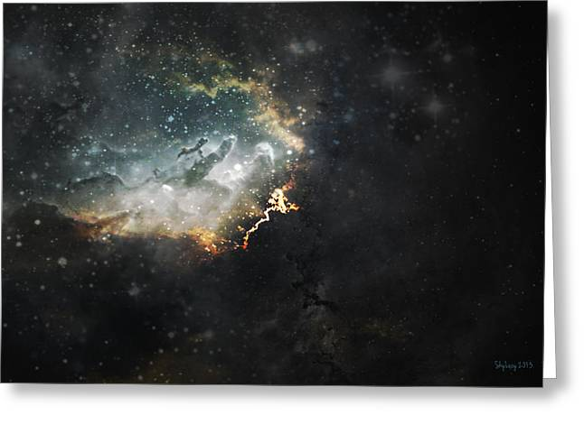 Greeting Card featuring the photograph Celestial by Cynthia Lassiter