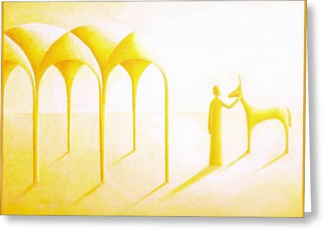 Celestial Dimension Greeting Card