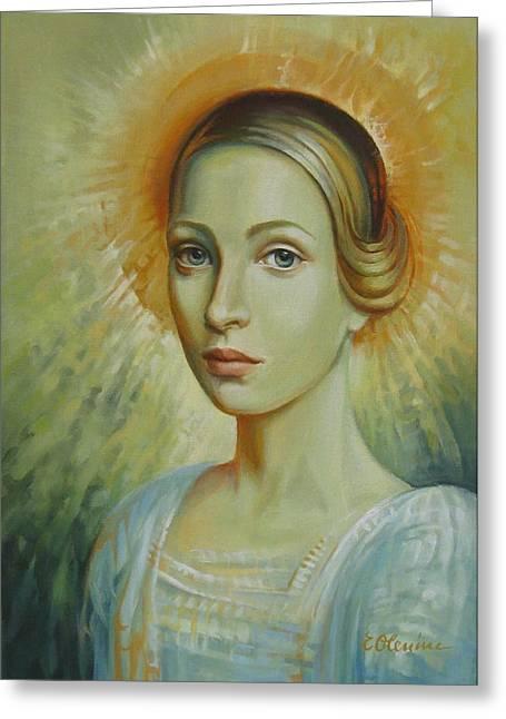 Celestial Greeting Card by Elena Oleniuc