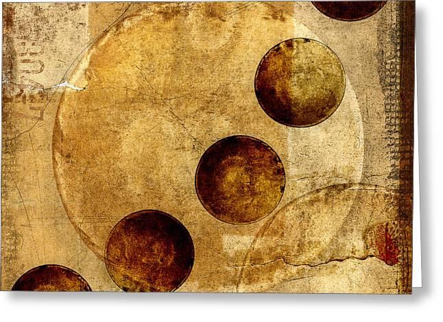 Celestial Spheres Greeting Card
