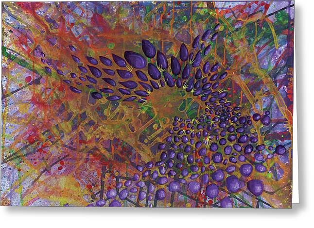 Cell No.8 Greeting Card by Angela Canada-Hopkins