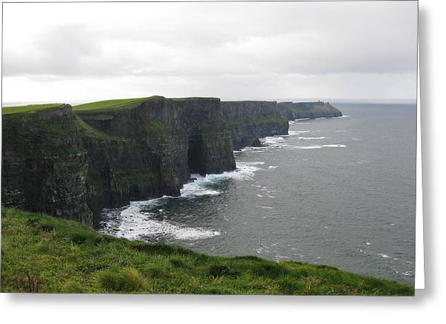 Celtic Cliffs Greeting Card