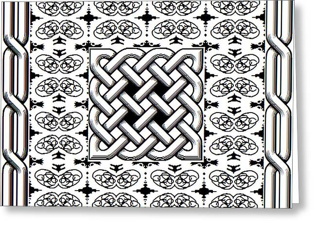 Celtic Knot Abstract Greeting Card