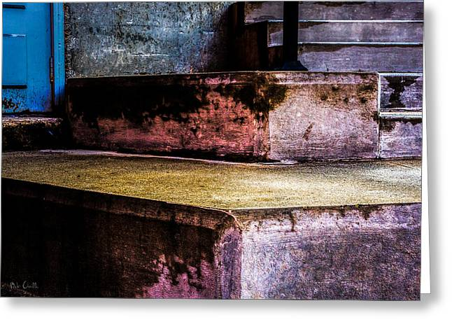 Cement Steps Number One Greeting Card