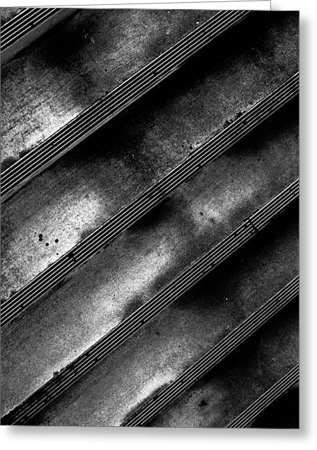 Cement Steps Number Two Greeting Card