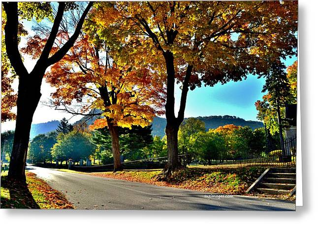 Cemetery Road Greeting Card