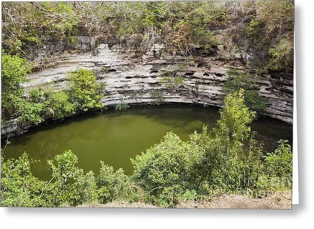 Cenote Sagrado At Chichen Itza Greeting Card