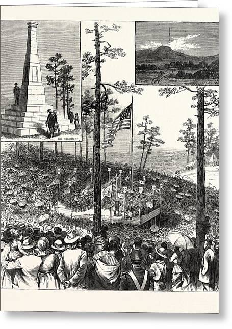 Centennial Celebration Of The Battle Of Kings Mountain Greeting Card