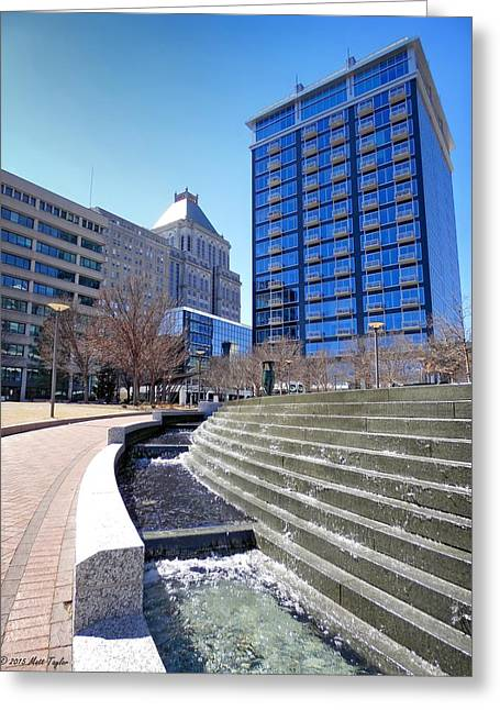 Center City Park Greeting Card