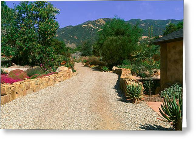 Center For Earth Concerns, Ojai Greeting Card by Panoramic Images