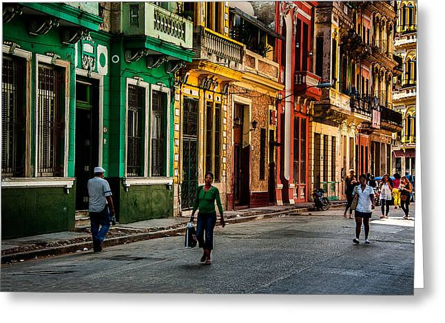 Central Havana Greeting Card