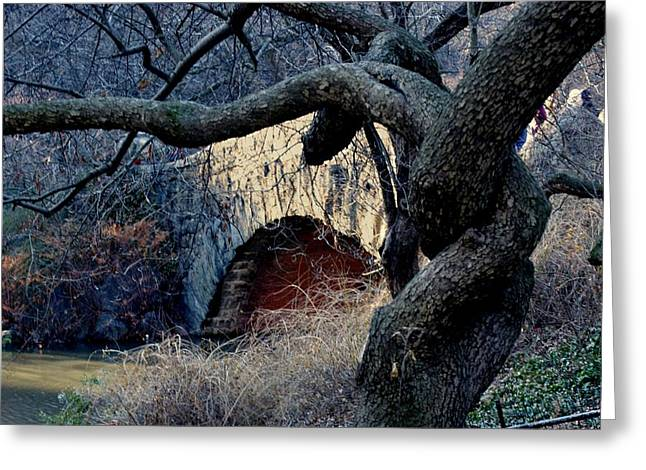 Central Park Bridge Greeting Card