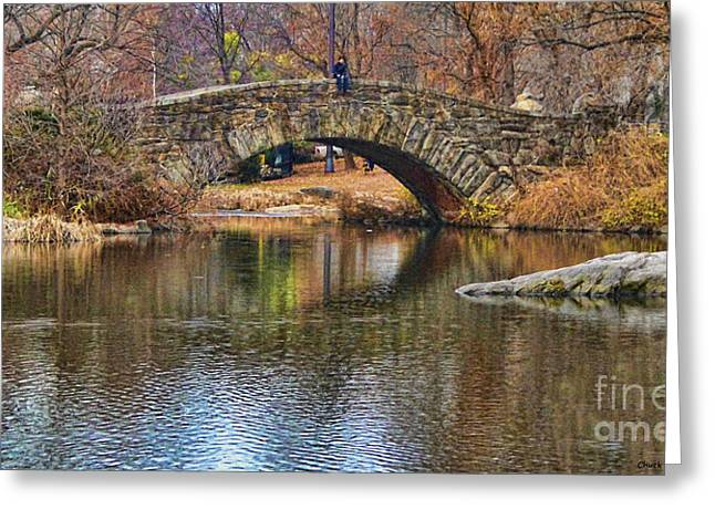Central Park II Greeting Card