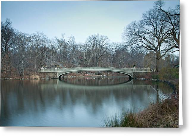 Central Park Greeting Card by Robert Martinez