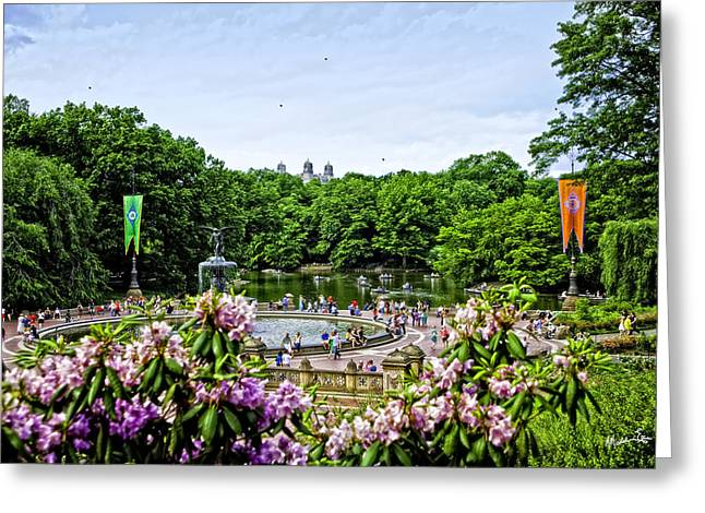 Central Park Spring Greeting Card
