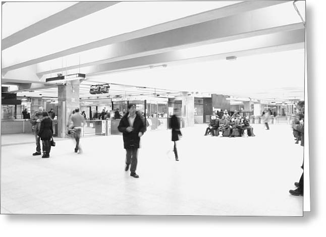 Central Station 1 Greeting Card by Eric Soucy
