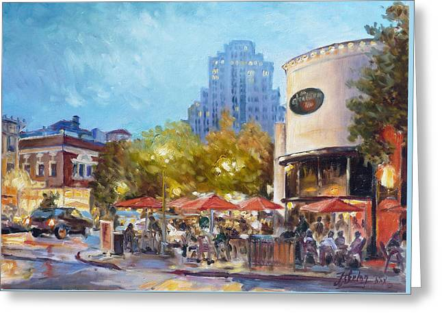 Central West End - St.louis Greeting Card