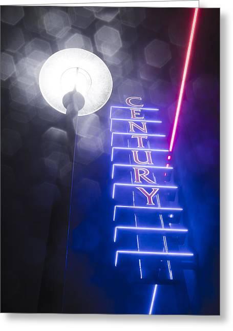 Century Neon Greeting Card