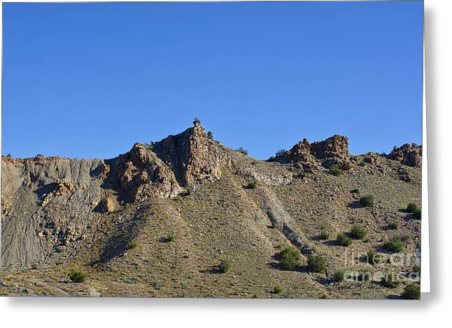 Cerrillos New Mexico Greeting Card