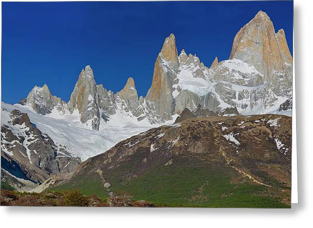 Cerro Fitzroy, Los Glaciares National Greeting Card