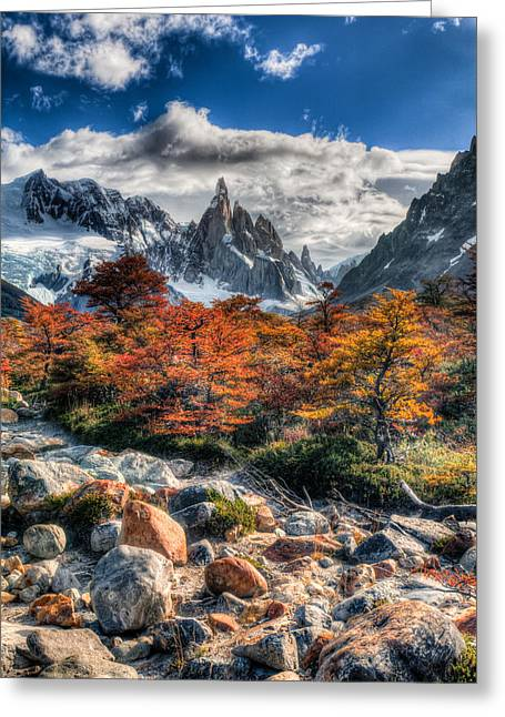 Cerro Torre 4 Greeting Card by Roman St