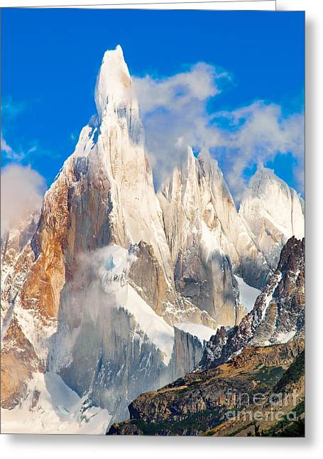 Cerro Torre Greeting Card by JR Photography