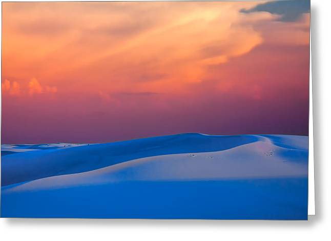 Cerulean Sands Greeting Card by Tom Weisbrook
