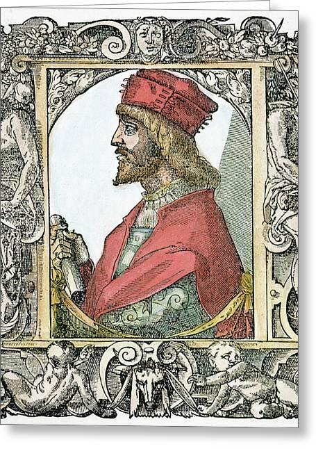 Cesare Borgia (c Greeting Card