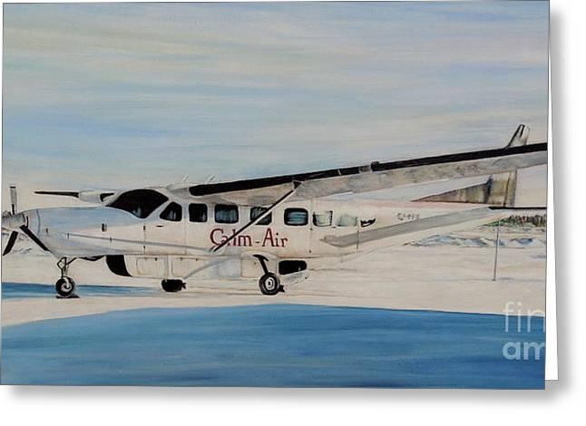Cessna 208 Caravan Greeting Card by Marilyn  McNish