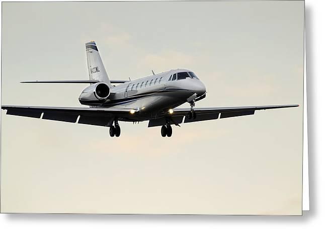 Cessna Citation Sovereign  Greeting Card