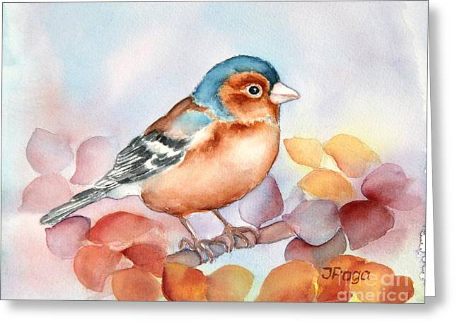Chaffinch 2 Greeting Card