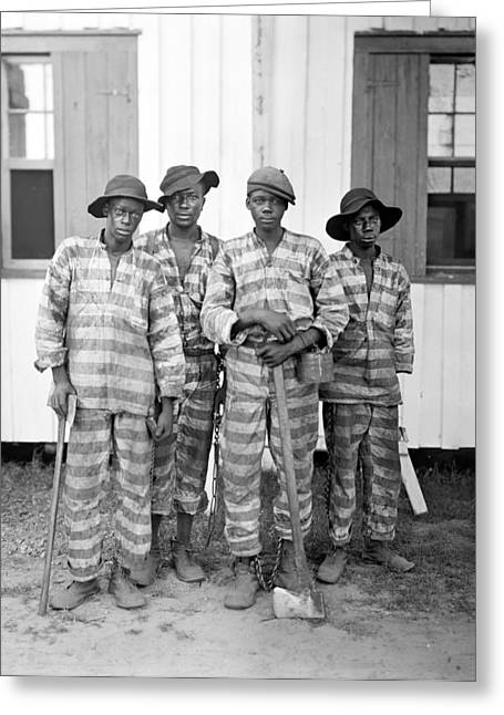 Chain Gang, C1905 Greeting Card by Granger